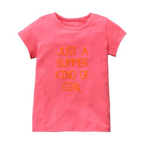 Room Seven T-Shirt Ti/Just A Summer Kind Of Girl Pink