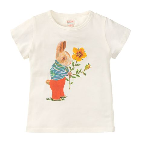 Room Seven T-Shirt Tins White Rabbit