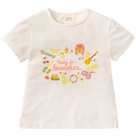 Room Seven T-Shirt Tota Ready For Summer White