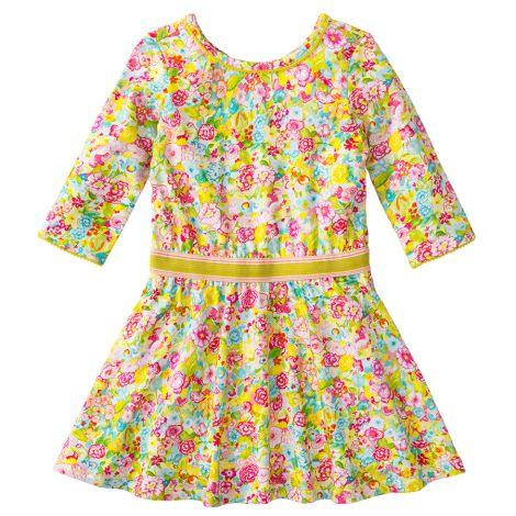Room Seven Jersey-Kleid Titou Spring Flower Multi Colour