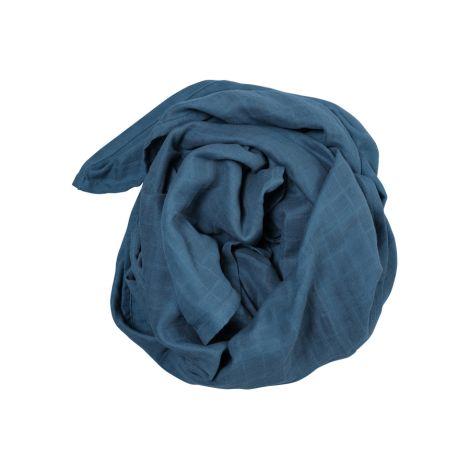 Fabelab Tuch Swaddle Blue Spruce Bio-Baumwolle