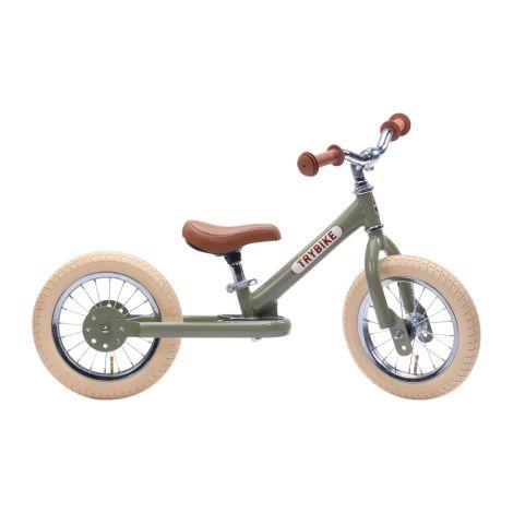 Trybike Laufrad Steel Vintage Green
