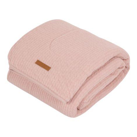 Little Dutch Bettdecke Pure & Soft Pure Pink