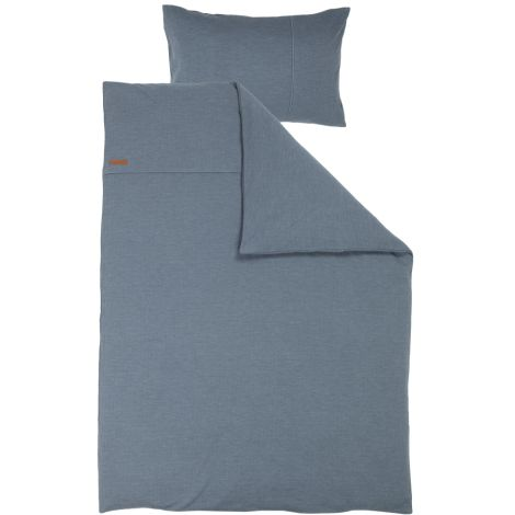 Little Dutch Einzel-Bettbezug Pure Blue 135x200