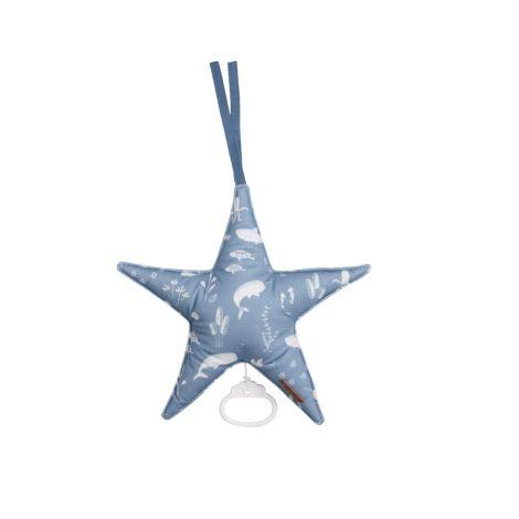 Little Dutch Spieluhr Stern Ocean Blue