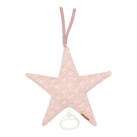 Little Dutch Spieluhr Stern Lily Leaves Pink