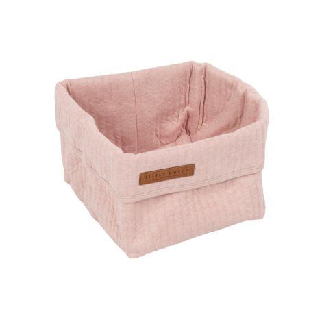 Little Dutch Wickeltischkörbchen Klein Pure Pink