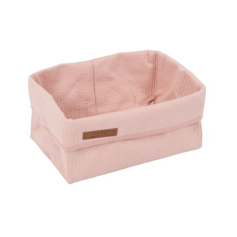 Little Dutch Wickeltischkörbchen Groß Pure Pink