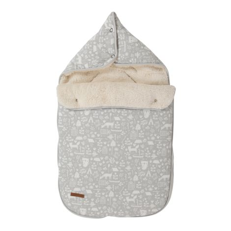 Little Dutch Babyschalen-Fußsack Adventure Grey