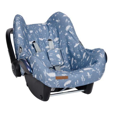 Little Dutch Babyschalen-Bezug Ocean Blue