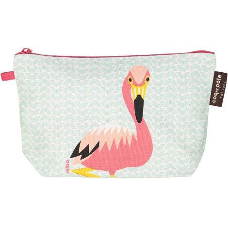 Coq en Pâte Kulturtasche MIBO Flamingo