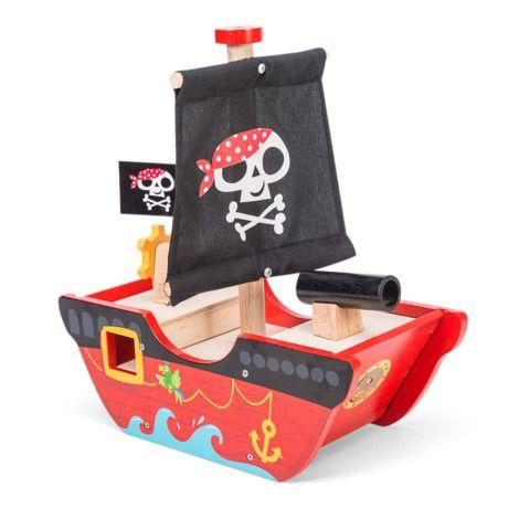Le Toy Van Kleiner Kapitän Piratenschiff •