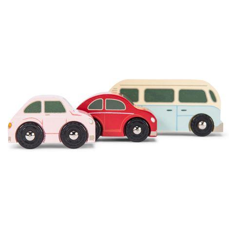 Le Toy Van Holzauto Retro Metro 3er-Set