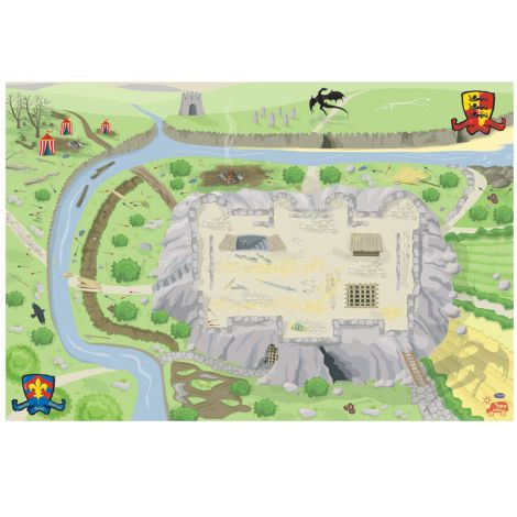 Le Toy Van Großer Spielteppich Schloss
