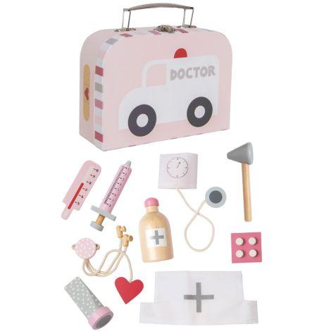 JaBaDaBaDo Doktor Spiel-Set im Koffer Pink