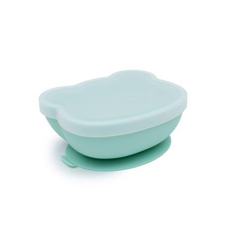 We Might Be Tiny Schüssel Stickie Bowl mit Deckel Bear Minty Green