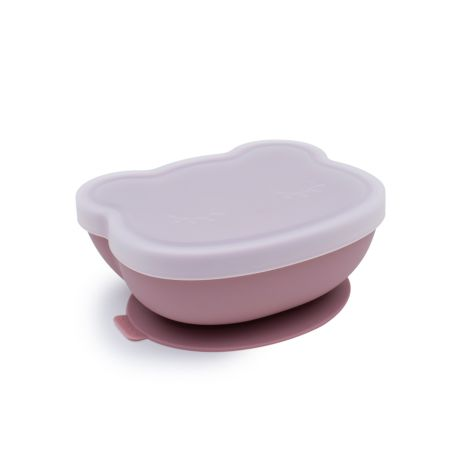 We Might Be Tiny Schüssel Stickie Bowl mit Deckel Bear Dusty Rose