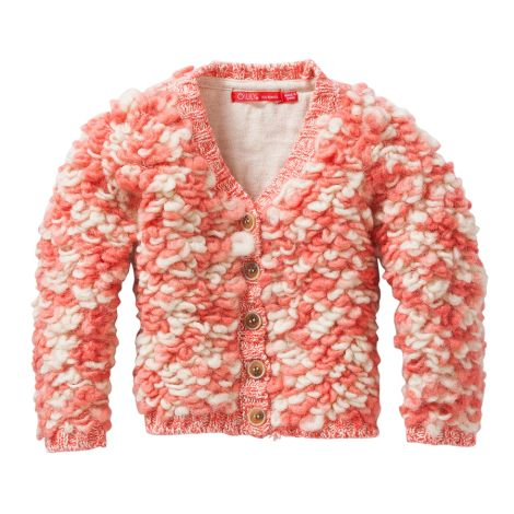 Oilily Cardigan Kurly Pink Sheep Knit Pink