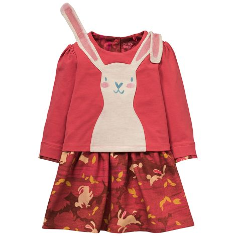 Oilily Jersey-Kleid Theodosia Rabbit Red
