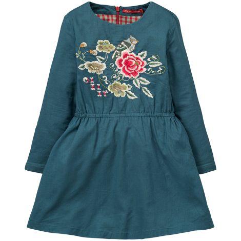 Oilily Kleid Daruma Wild Rose Blue
