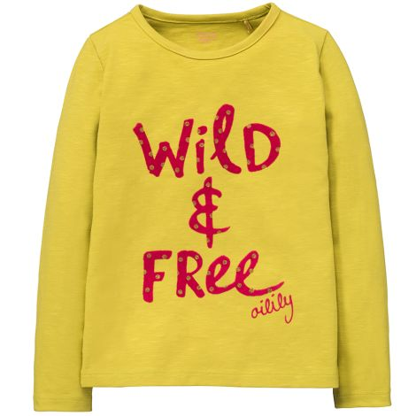 Oilily Langarm-Shirt Tip Wild & Free Yellow