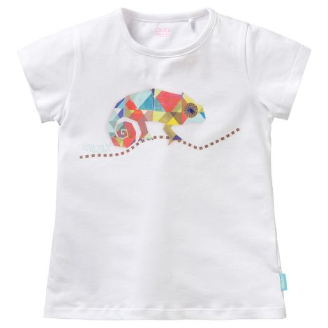 Oilily T-Shirt Ti Weeber Chameleon White