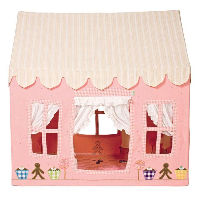 win green spielhaus gingerbread cottage klein online. Black Bedroom Furniture Sets. Home Design Ideas