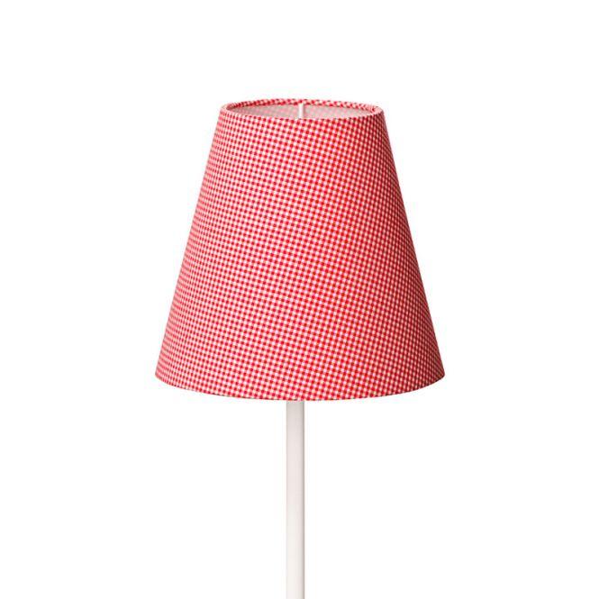 emil paula lampenschirm vichy karo rot online kaufen emil paula kids. Black Bedroom Furniture Sets. Home Design Ideas