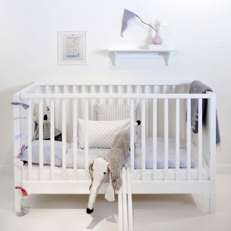 Oliver Furniture Baby- und Kinderbett Seaside Weiß - Sofort lieferbar