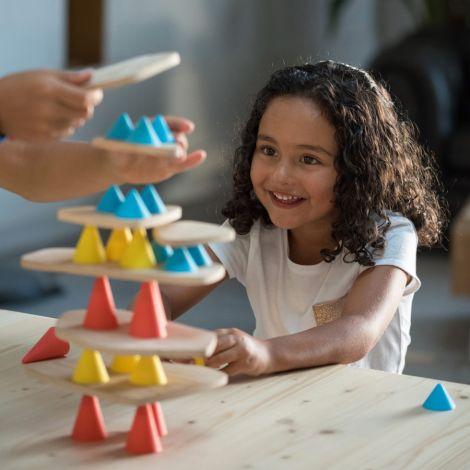 OPPI Balance Spiel Piks Großes Kit 64-teilig