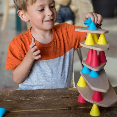 OPPI Balance Spiel Piks Starter Kit 24-teilig