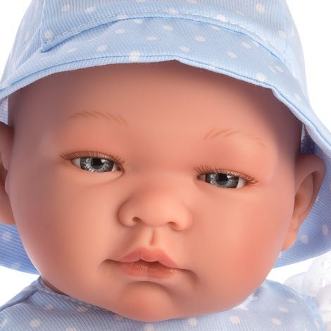 Asi Dolls Puppe Pablo Blauer Romper