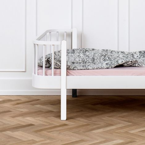 Oliver Furniture Einzelbett Wood Weiß