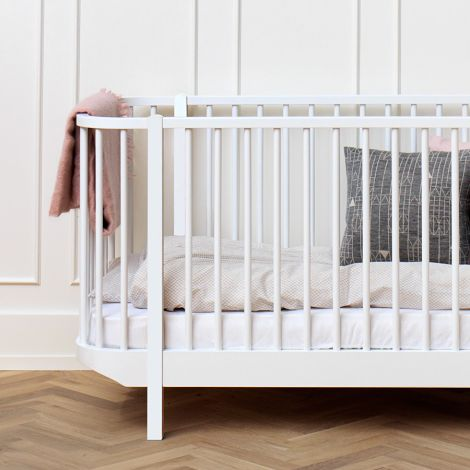 Oliver Furniture Baby- und Kinderbett Wood Weiß