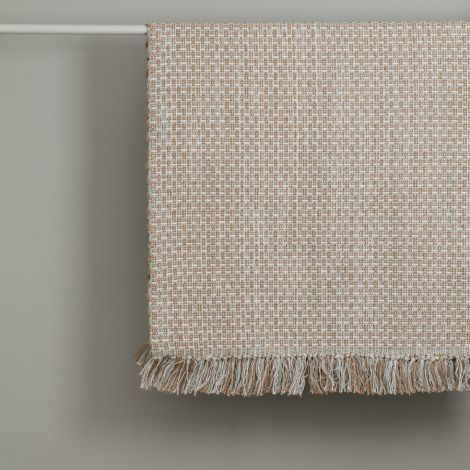 Kids Concept Teppich Baumwolle/Jute Blau Grau 70x140
