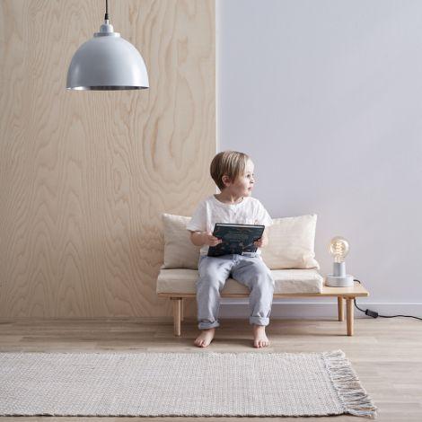 Kids Concept Deckenlampe Metall Blaugrau