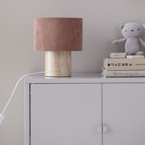 Kids Concept Tischlampe Manchester Braun