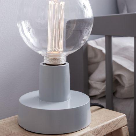 Kids Concept Tisch-/Wandlampe Metall Blau