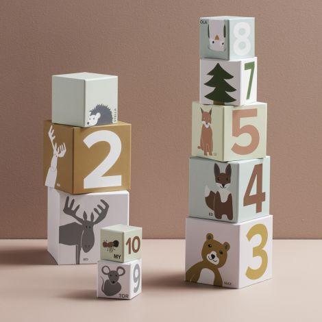 Kids Concept Stapelwürfel Edvin 10-teilig