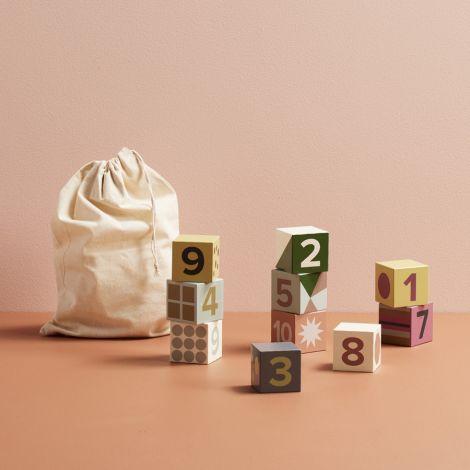 Kids Concept Holzklötze Edvin 10-teilig