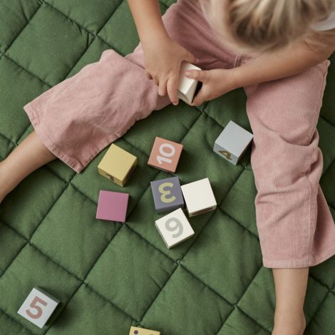 Kids Concept Spielteppich Rund Grün
