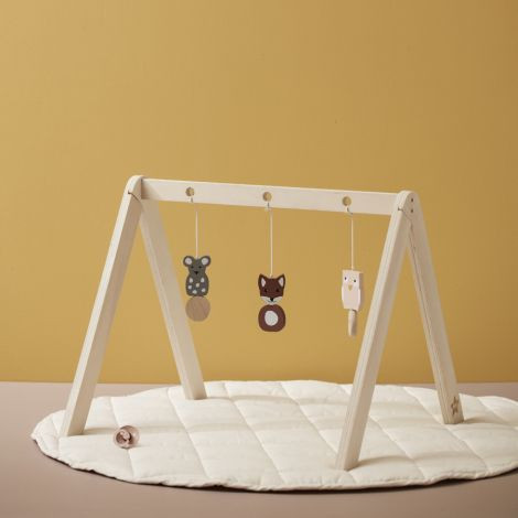 Kids Concept Spielteppich Rund Beige