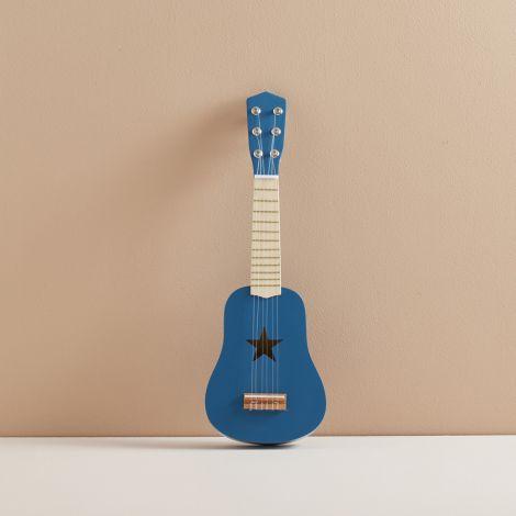Kids Concept Gitarre Blau Holz