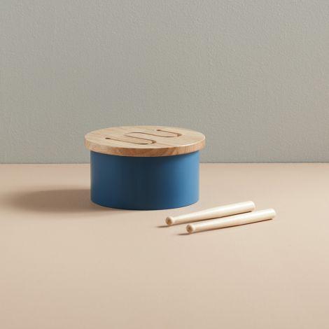 Kids Concept Trommel klein Blau