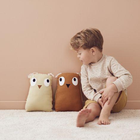 Kids Concept Kuscheltier Eule Edvin Braun