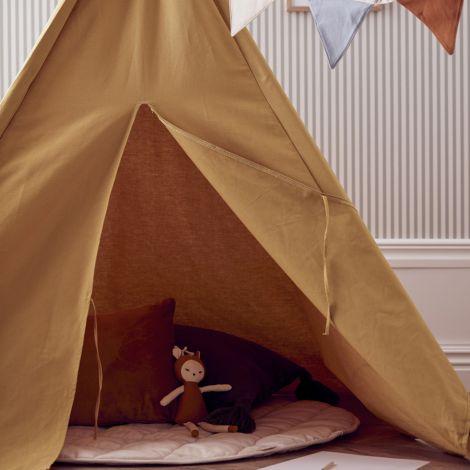 Kids Concept Tipi Zelt 160 cm hoch Gelb