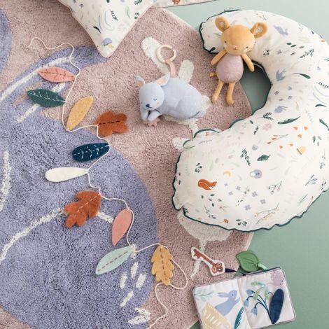 Sebra Teppich gewebt Bunny
