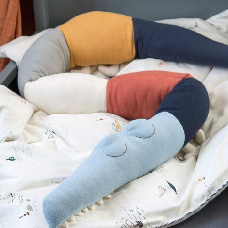Sebra Plüschtier Kissen Sleepy Croc Seven Seas