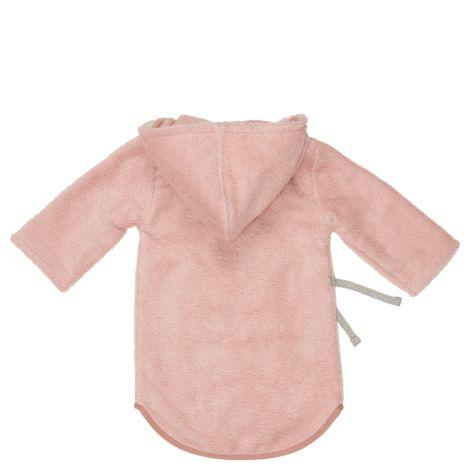 Koeka Baby-Bademantel Dijon Shadow Pink Bio-Baumwolle