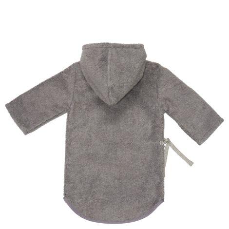 Koeka Baby-Bademantel Dijon Steel Grey Bio-Baumwolle
